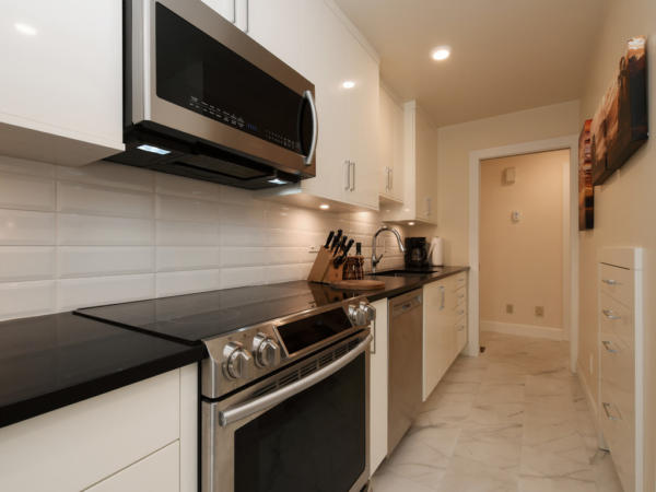 fully renovated kitchen Sidney Townhome